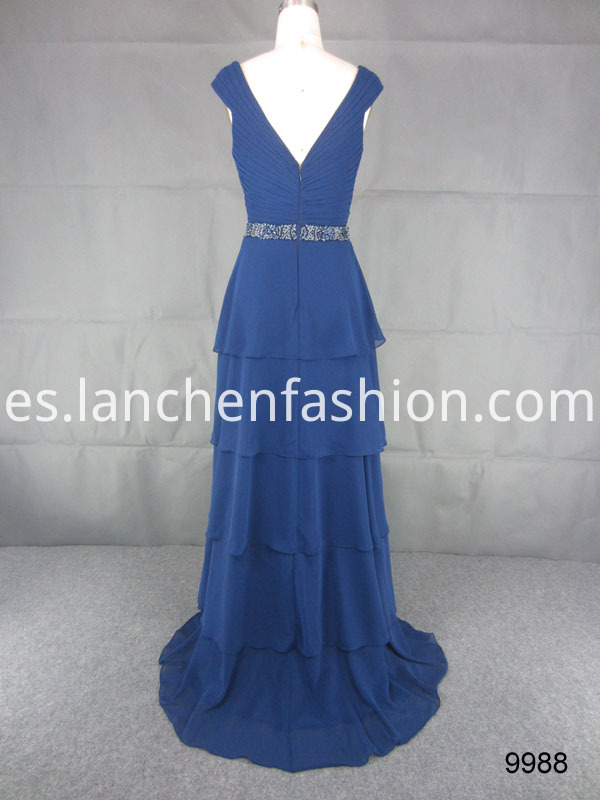 dress navy back