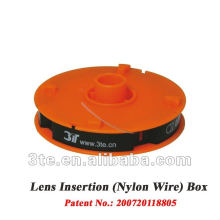 Alambre de nylon barato para las piezas de los cristales de la lente