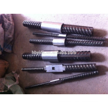 verschiedene kegel faden kupplung & rebar kegelmaschine verschiedene kegel faden kuppler & bügel maschine