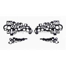 Tatouage temporaire d'oeil d'autocollant d'oeil pour Halloween composent