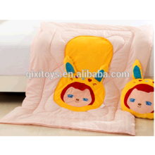china personalized cheap soft plush handmade animal baby blanket