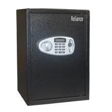 Schwarzer elektronischer Safe mit digitaler Tastatur