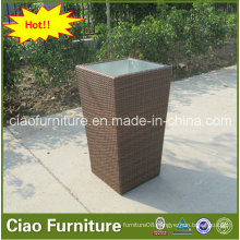 Garden Outdoor Furniture Rattan Flower Pot