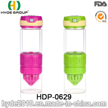 550ml BPA Free FDA Glass Fruit Infusion Water Bottle (HDP-0629)