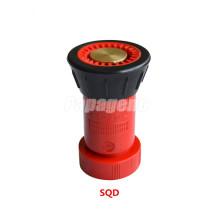 Buse en plastique pour tuyau d'incendie en PVC