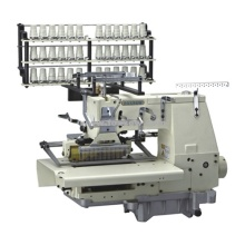 Multi Needle Smocking Sewing Machine with Shirring