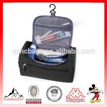 Organisateur cosmétique de sac de voyage de toilettage, sac de kit de voyage, sac de kit de rasage d'hommes