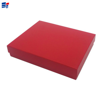 China for Cover And Tray Electronics Carton Red paper custom EVA gift box export to Germany Importers