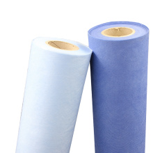 tissu non tissé médical dégradable et dispersible pp spunbond 50g 260mm pour l'agriculture / protection