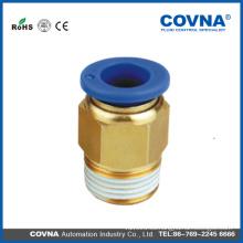 Tubería recta de tubo de PVC pvc para válvula de bola neumática