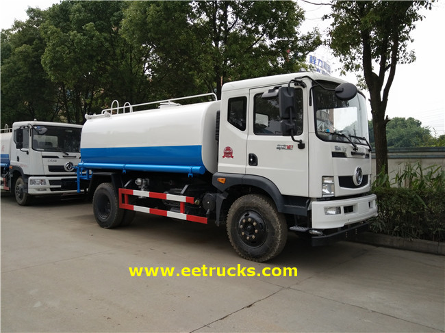 Dongfeng 180HP Water Road Tankers