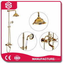 water saving high quality gold shower sets