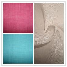 Tissu à lingerie à rayures teintées Ramie Plain