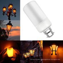 E27 E26 E14 B22 E12 Flicker Effet feu 99SMD 5W Party Decor LED Flamme Lumière