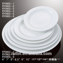 Porcelain Ceramic Type and Dishes & Plates Dinnerware Type porcelain plate