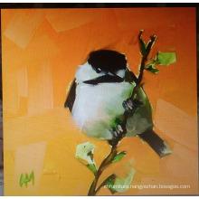 White Bird Oil Painting