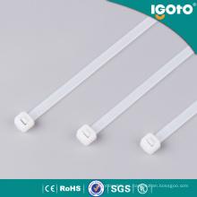 Lazos de cable de plástico de seguridad de nylon