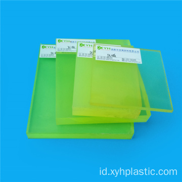 Kinerja tinggi Cast Mold PU Rubber Sheet