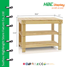 Hot sell shoe rack designs wood shoe rack