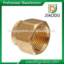 Чжэцзян производитель высококачественный кованый оригинальный латунный цвет подгоняемый npt внутренняя резьбовая латунная короткая гайка