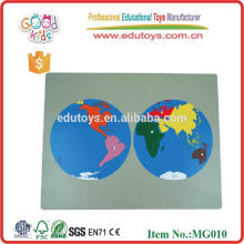 Montessori World Map
