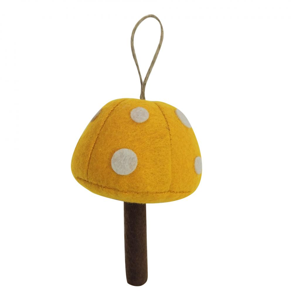 Christmas Mushroom Shape Hanging Decorations