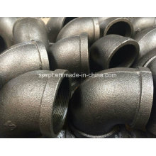 Banded Black Elbow Malleable Iron Pipe Fittings