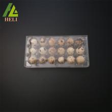 Clear Plastic PVC Quail Eggs Tray