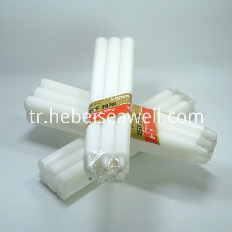 White Stick Candle 20