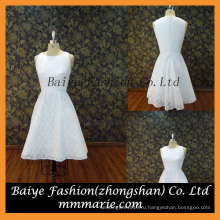 2016 новый стиль рукавов атласная короткие платье простые платья для детей день рождения платья для девочек
