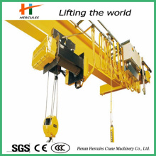 10 Ton Remote Control Electric Single Girder Overhead Bridge Crane for Sale
