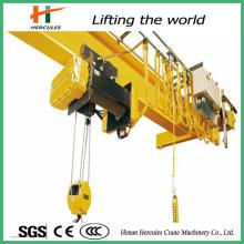 10 тонн дистанционного управления электрическим сингл накладные расходы мостовые кран для продажи