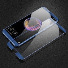 Vetro temperato HD blu per Huawei Honor V10