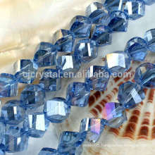 6mm Twist Crystal Beads,colorful crystal beads