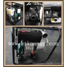 """Bomba de agua diesel común de 3 """"con silenciador estándar"""