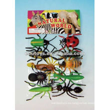 Juguetes de insectos de plástico