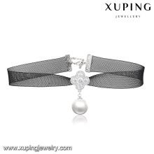 00133-pas cher grossiste bijoux de mode collier de velours de collier