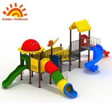 Двойной слайд материал для школьной площадки