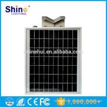 Outdoor ip65 8w tudo-em-um integrado luz solar led rua