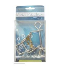 crianças educacionais 3d IQ Metal Puzzle Games
