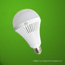 Luz recargable de la luz de bulbo del LED 12W
