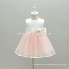 High Quality Cotton Lining Infant Tulle Layered Flower Cap Girl Dress Toddler dress kids for baptism