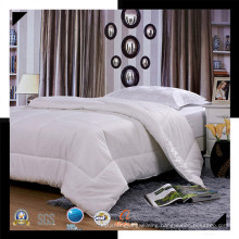New Collection Bed Modern Style Bed Plain White Hotel/Home Bedding Set (WS-2016277)