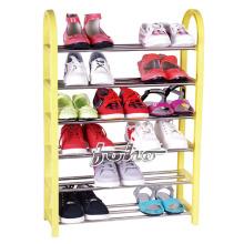 DIY Colorful 6 Layer Palstic Shoe Rack (FH-SR0056)