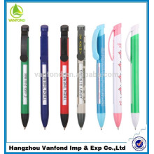 Factory direct customized plastic advertising pen, advertising slogan pen, ad advertising pen