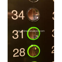 Golden Push Button FAA25090A121 OTIS 2000 Hissar