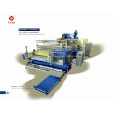 Parafuso três automática PE Stretch filme que faz a máquina