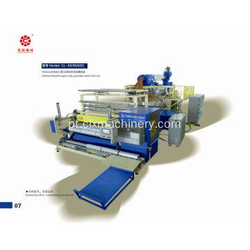 LLDPE Stretch Embalagem Film Machinery