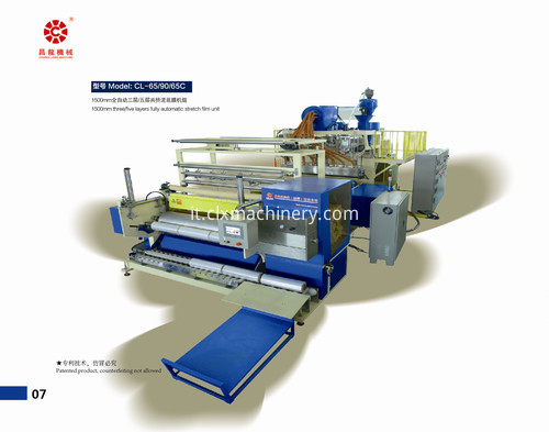 fully automatic silage film production line