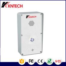Téléphone de secours Knzd-45 de téléphone de porte d'interphone d'IP de contrôle d'accès d'IP